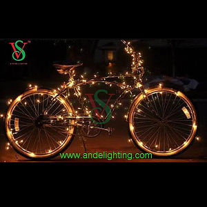Bike Decoration Light LED Invisible Copper Wire Light for Craft Decoration pictures & photos