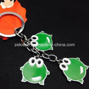 Customized Animal Cute Fog Keychains pictures & photos