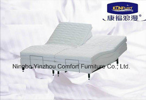 Split Electric Adjustable Bed Vibration Massage (comfort 200A) pictures & photos
