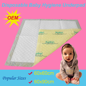 60*60cm High Quality Baby Hygiene Underpad (UP660A) pictures & photos