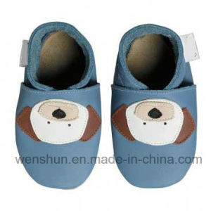 Soft Outsole Baby Leather Shoes 4117