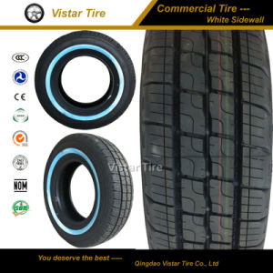 Commercial Tyre with White Side Wall (185r14c, 185r15c, 195r14c, 195r15c) pictures & photos
