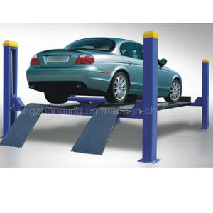 Four Post Car Lift for Wheel Alignment pictures & photos