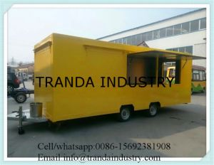 BBQ Kebab Standing Kitchen Caravan Toaster Bar Trailers Made in China pictures & photos