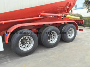 3 Axle 38cbm Bulk Powder Materials Transportor Tanker Truck Semi Trailer pictures & photos