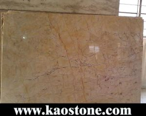 Beige Cream Marble Slabs for Flooring & Wall pictures & photos