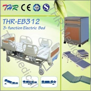 Three Function Hospital Electric Bed pictures & photos