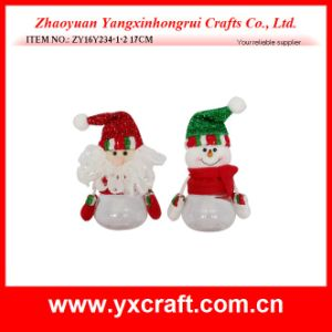 Christmas Decoration (ZY14Y474-1-2-3 20CM) Christmas Bottle Empty Gift Basket pictures & photos