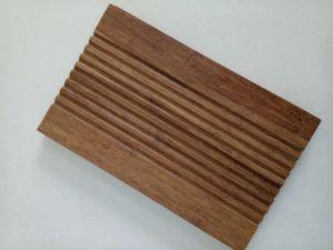 Carbonized Strand Woven Bamboo Non-Slip Bathroom Flooring pictures & photos