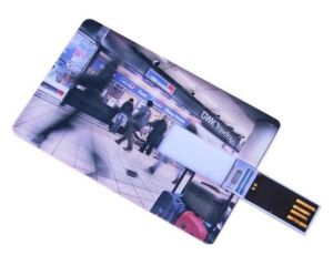 Hot USB Flash Memory Card with Full Colour Printing pictures & photos