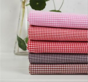 Polyester Cotton Yran Dyed Check Fabric Garment Fabric Upolstery Fabric pictures & photos