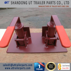 Double Container Revolving Twist Lock for Truck and Trailer pictures & photos