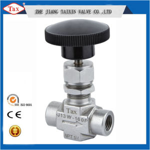 Mini Water/Gas Needle Valve NPT1/4′′ Female Connection