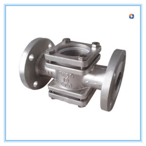 Stainless Steel Casting Straight Valve in RF End pictures & photos