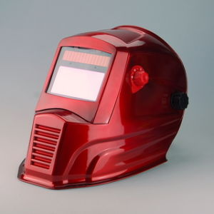 Auto Darkening Welding Helmet (WH7711 Red) pictures & photos