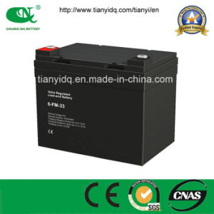 12V33ah Maintenance Free AGM Lead Acid UPS Backup Battery