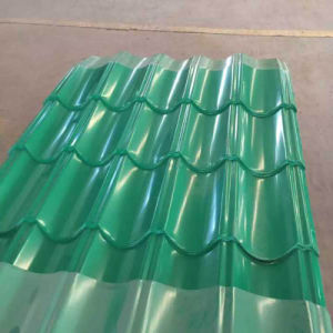 Steel Products Color Building Material Corrugated Steel Roofing Sheet pictures & photos