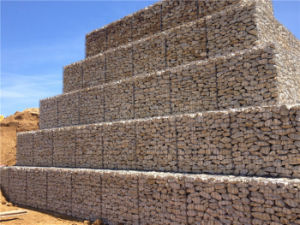 Square Hole Galvanized Welded Gabion Basket pictures & photos