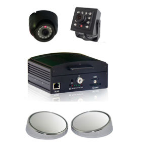 High Quality 4 CH HDD Mobile DVR 3G/ Gp/G-Sensor/WiFi pictures & photos