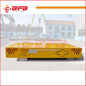Battery Powered Heavy Duty Electric Motorized Trackless Transfer Trolley pictures & photos