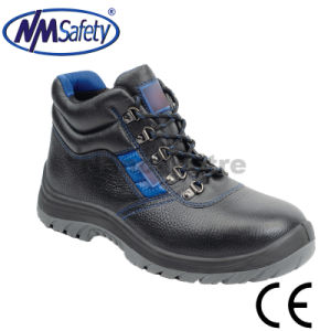 Nmsafety Light Weight Leather ABS Toe Cap Work Safety Shoes pictures & photos
