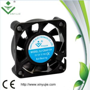 12V 4010 Plastic DC Cooling Fan 40X40X10mm pictures & photos