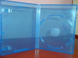 Blue Ray DVD Case DVD Cocer DVD Box Rectange PP 11mm Single