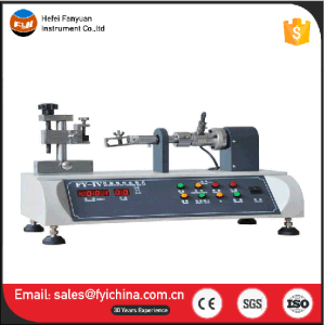 Fy-3 Zipper Slider Bursting Strength Tester pictures & photos