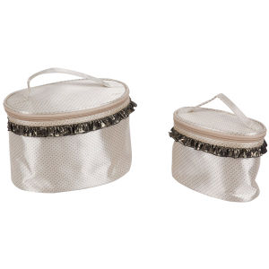 Cylindrical Cosmetic Bags/ Lady Makeup Bags/ Ladies Bag