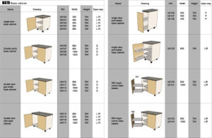Modular Kitchen Cabinet for Ikea (Base Cabinet-01) pictures & photos