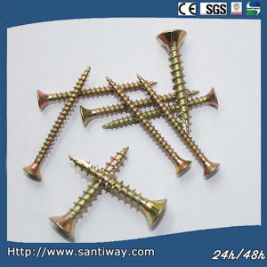 Yellow Self Drilling Screw pictures & photos