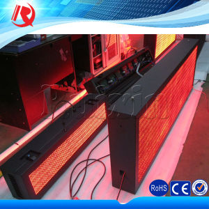 Outdoor P10 Red LED Moving Message Display Sign pictures & photos