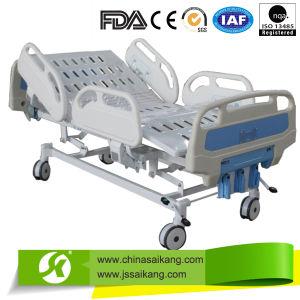 Sk016 Hospital Manual Crank ICU Ward Patient Bed Furniture Equipment pictures & photos