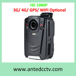 HD 1080P Police Worn Video Body Camera Optional with 4G 3G GPS WiFi 16GB 64GB 128GB 256GB pictures & photos