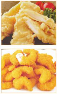 Drum Batter Machine Breaded Shrimp Machine Gjj400-II pictures & photos