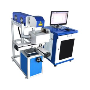 Dapeng Laser Marking on The Fly Automatic Engraving Machine pictures & photos