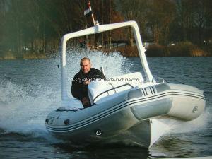 Aqualand 19feet 5.8m Rigid Inflatable Fishing Boat/Rib Motor Boat (RIB580C) pictures & photos