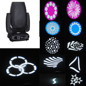 350W 17r Beam Wash Spot 3in1 Professional Stage Effect Moving Head Light pictures & photos