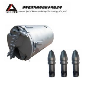 Tungsten Carbide Conical Tipped Tunnel Rock Drill Pick Cutting Bits pictures & photos