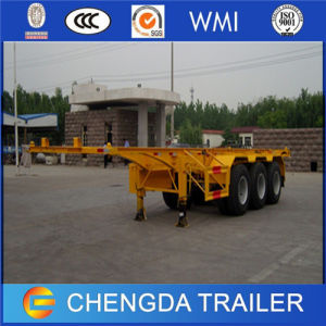 Made in China 3 Axles 40FT Skeleton Trailer Container Trailer pictures & photos