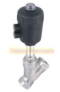 3/4′′ Ports Angle Seat Piston Valve Stainless Steel Jzf-20