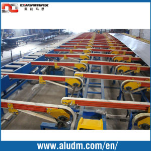 Aluminum Profile Extrusion Cooling Table pictures & photos