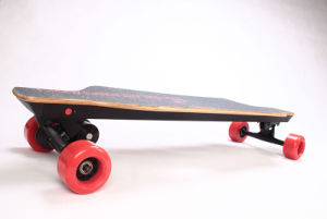 China Wholesale 4 Wheels 1800W Dual-Motor Moterized Skateboard Longboard for Adults pictures & photos