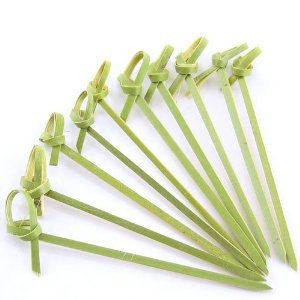 Flower Skewers in Bamboo Material pictures & photos