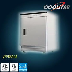 Upright Stainless Steel Kitchen Refrigerator with Single Door (MBF8505) pictures & photos