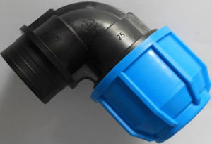 HDPE Pipe Fitting Female Elbow for Irrigation pictures & photos