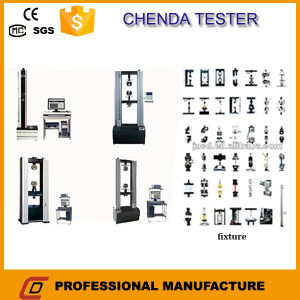 50kndigial Display Manual Control Electronic Universal Tensile Strength Testing Machine pictures & photos