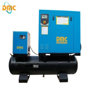 20HP Electric Rotary Screw Air Compressor with Tank pictures & photos