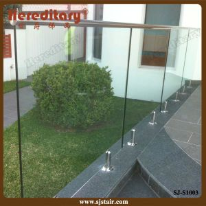 Garden Glass Fence with Slot Handrail Made in China (SJ-S1003) pictures & photos