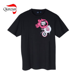 Fashion Dark Customed Design Cotton Pop T-Shirts (LWC-287) pictures & photos